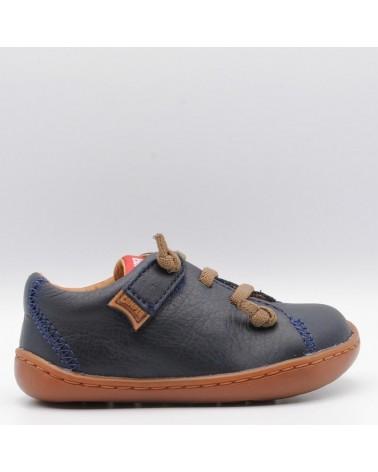zapato camper peu niño marino