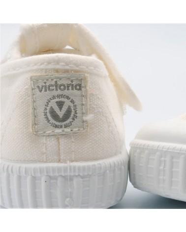 zapatilla lona victoria sandalia pepito blanca