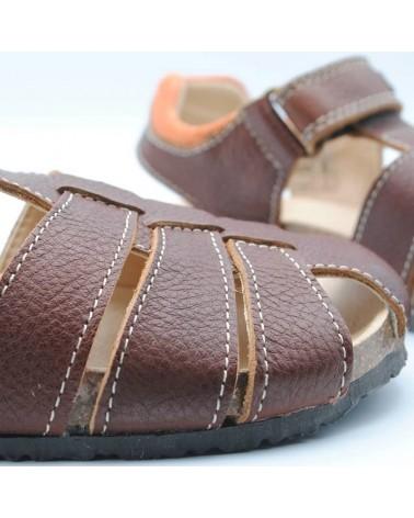 sandalias pablosky niño marrón bio baratas