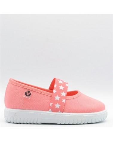 zapatillas lona victoria niña elásticos