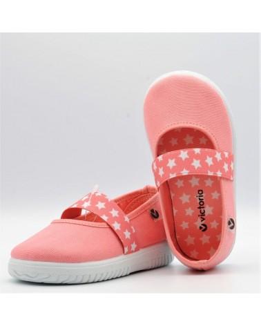 comprar zapatillas lona bebé victoria elástico estrellas